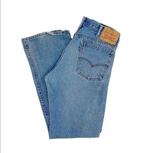 Vintage 517 Levi's High Waisted Straight Leg Jeans